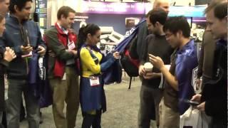 Superheroes at Photonics West 2011