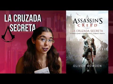 assassin's-creed:-la-cruzada-secreta--oliver-bowden-(reseña-booktuber)