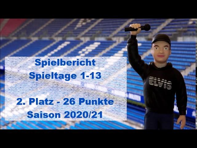 Elvis - Spielbericht | HSV Spieltage 1-13 / Saison 20/21 | #001