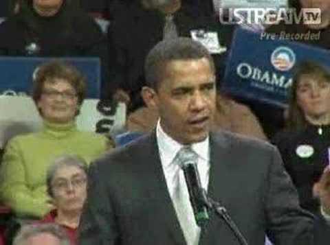 Barack Obama in Colorado: Iraq