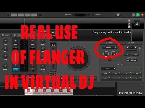 Virtual Dj Flanger Effect