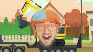 Blippi Toys! Learn Verbs with Blippi Educational Digger Videos for Kids