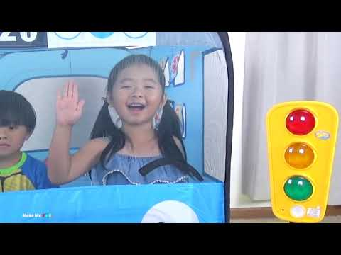 Thumbnail: Learn Color with balls/ The Wheel On The Bus with Tayo The Little Bus Baby Nursery Rhymes Song