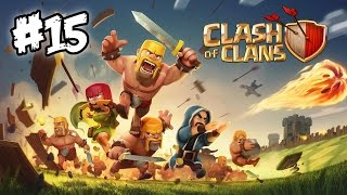 Clash of Clans #15 - Town Hall 5 Farming Tactic: BARBARIANS ARE AWESOME!