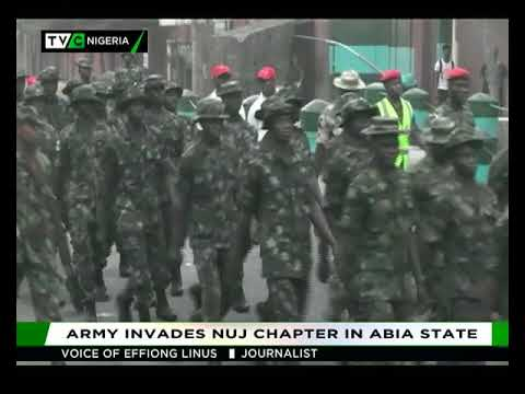 Effiong Linus speaks on Army's invasion of Abia NUJ Secretariat