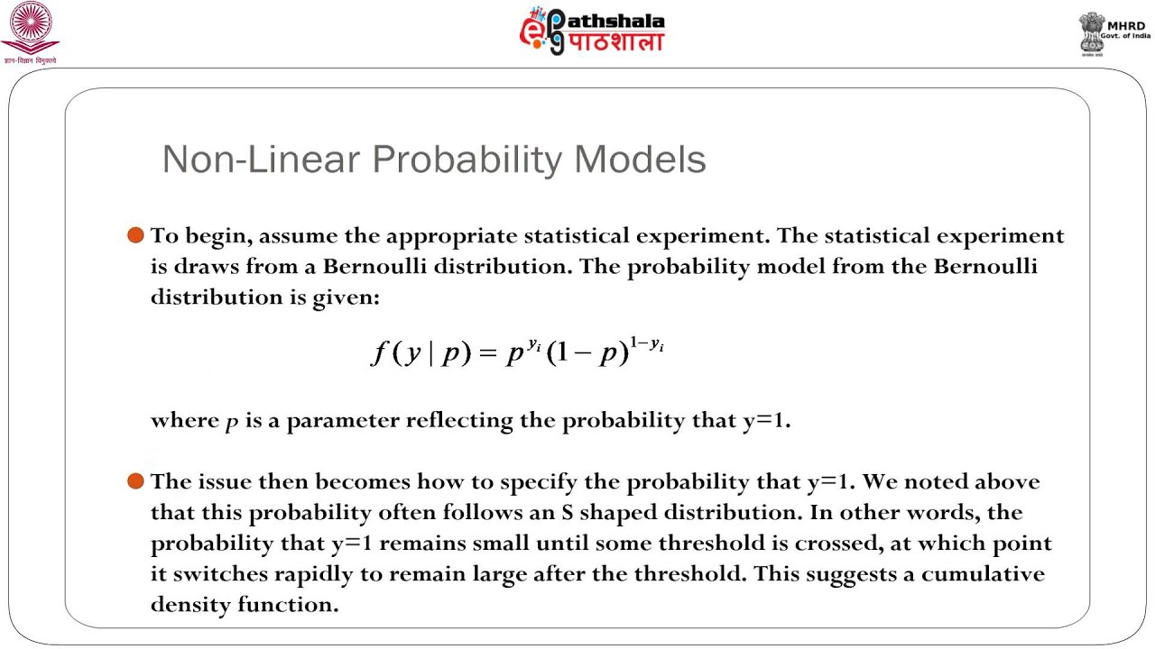 linear probability model The binary dependent variable model is an example of a a) regression model, which has as a regressor, among others  in the linear probability model.