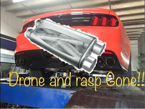 2015 Mustang GT Magnaflow resonated Tru-X (no more drone)