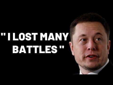 I LOST MANY BATTLES - Elon Musk's Speech That Broke The Internet