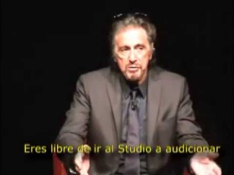 Tp Lee Strasberg  Al Pacino Actor's Studio  Puesta en Escena Video 2º