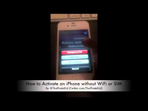 how to activate iphone without sim iphone activation bug no wifi or sim 2937