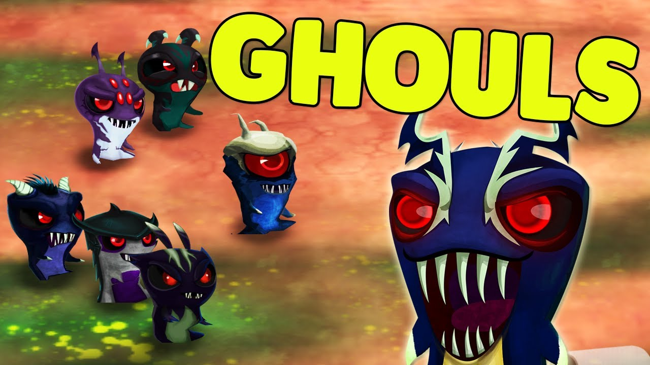 all the ghouls in the game darkfurnus smugglet