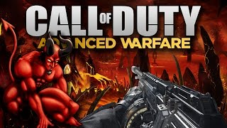 "Advanced Warfare ""HELLSPAWN MODE"" - Demon Zombies! (Call of Duty AW 4th Co-Op Game)"