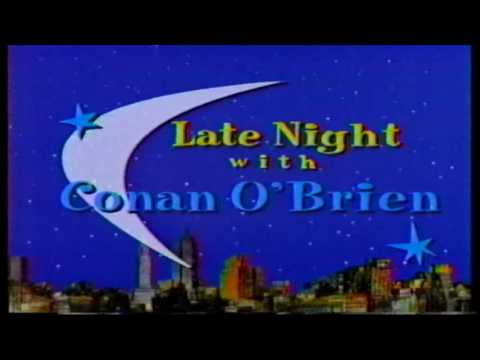 Late Night with Conan O'Brien Intro (1995)