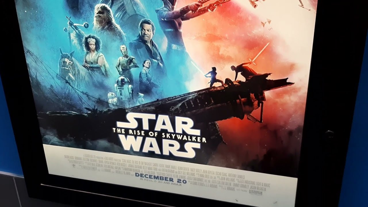 Star Wars The Rise Of Skywalker Mall Movie Poster 2020 Youtube