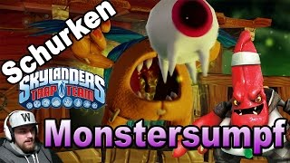 Skylanders Trap Team - Schurken Let´s Play Kapitel 7 Monstersumpf [HD] Deutsch/German