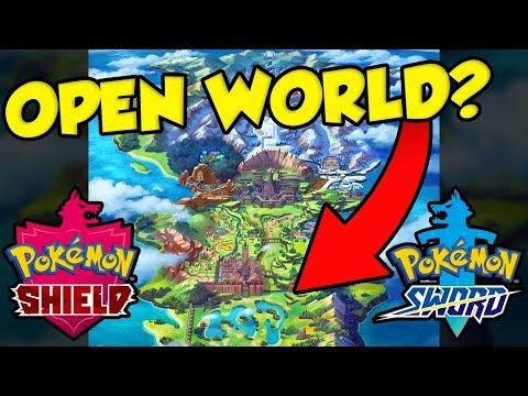 Pokemon Sword And Shield Galar Region Best Region Open World