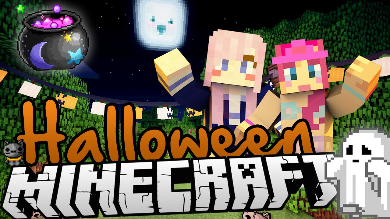Trick Or Treating Minecraft Halloween Carnival Map