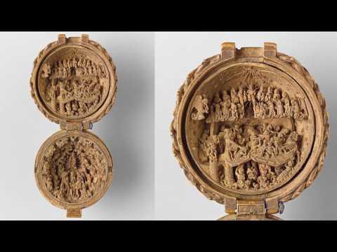 RARE Tiny Wooden Sculptures