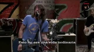 Foo Fighters Dear Rosemary Subtitulado (HD)