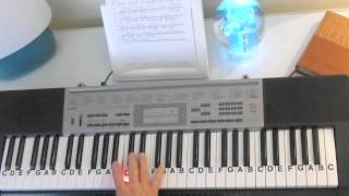 How to Play ~ Captivate Us ~ Watermark ~ LetterNotePlayer ©