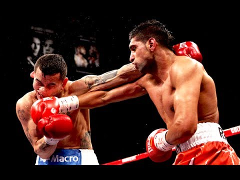 Amir Khan vs Marcos Maidana - Highlights (Speed vs Power) - YouTube