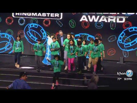 INspirational People: Manoa Elementary School's robotics team