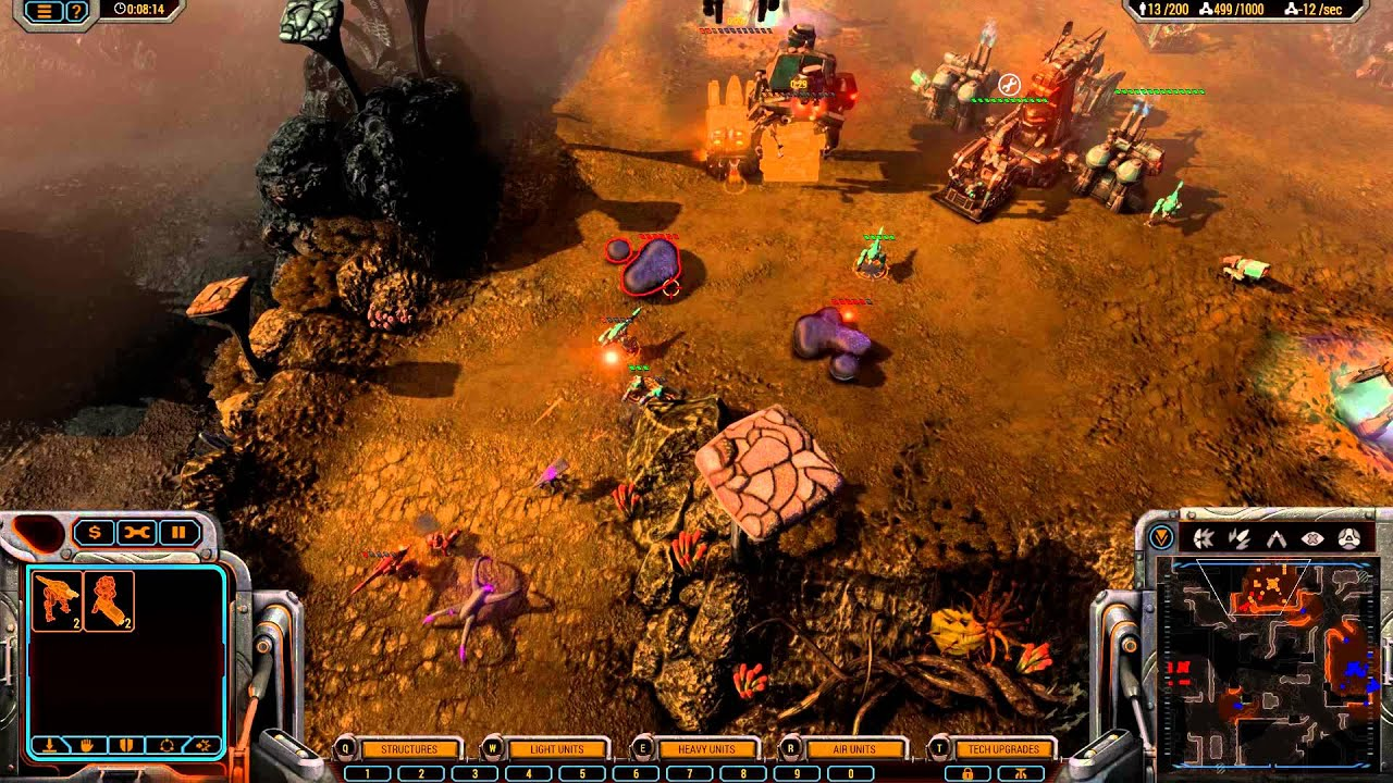 Grey Goo: Beta vs Goo Gameplay