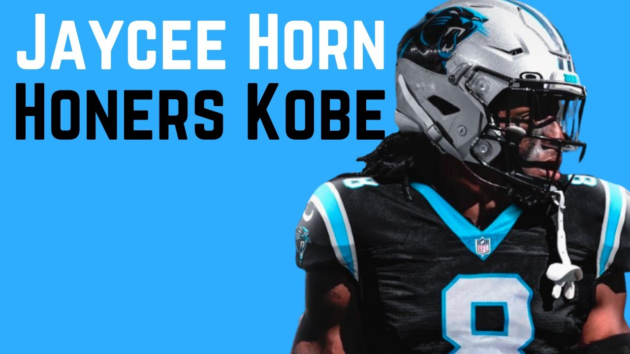 Panthers' 1st-round pick honors Kobe Bryant by wearing No. 8