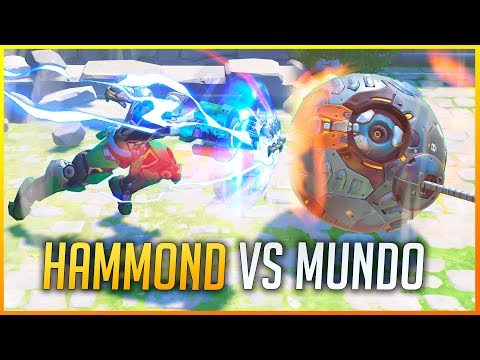 OVERWATCH: HAMMOND VS EL RESTO DE HÉROES! | Makina