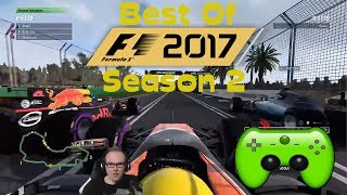 Best Of PietSmiet | Formel 1 2017 Season 2 | [HD+]