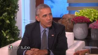Repeat youtube video Channel 5 censors Obama's gay rights remarks on Ellen