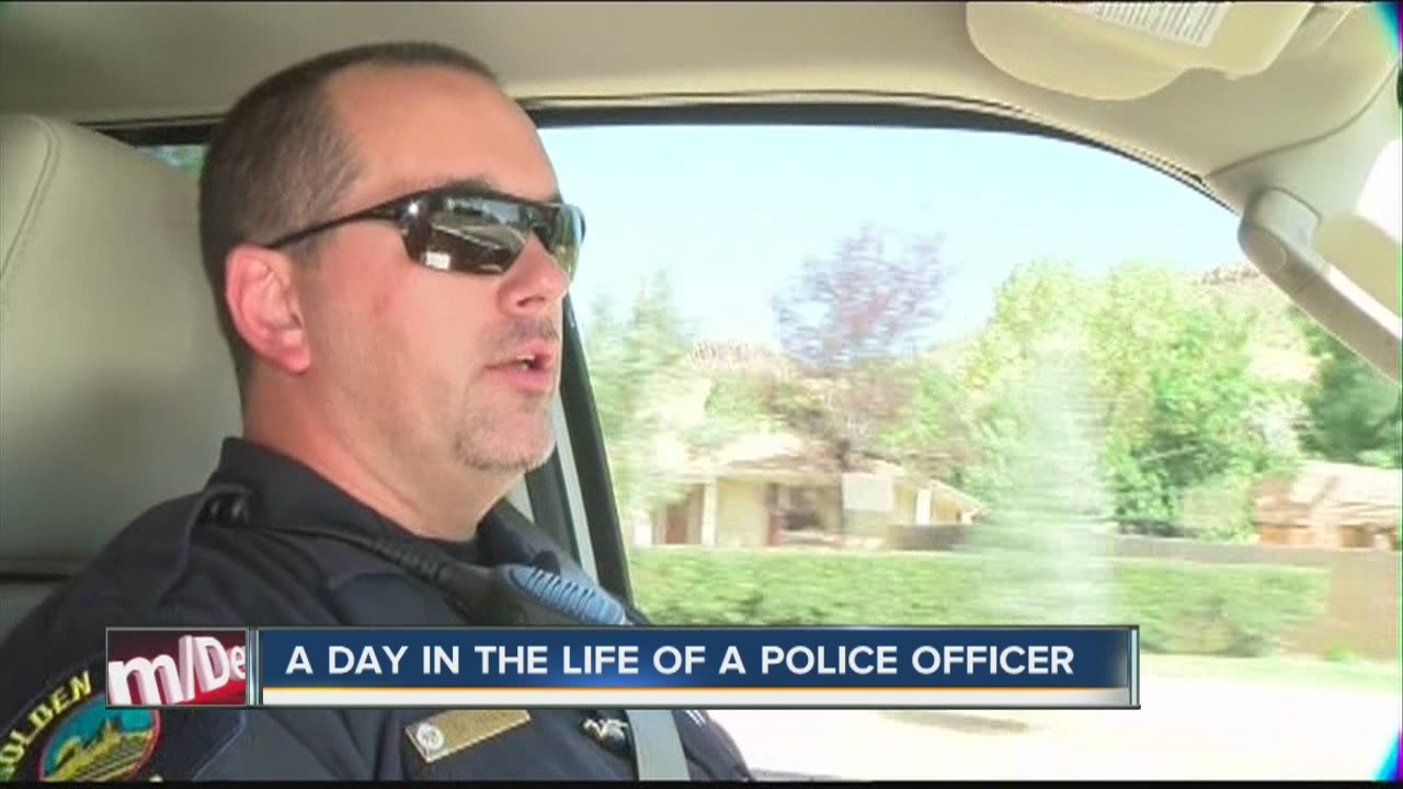 a day in the life of a policeman-essay The police carry an enormous burden each day encounters to businesses as well as professions in addition to politics as well as several other areas in the life of society there is more law at the end of a policeman's nightstick than in a decision of the supreme court.
