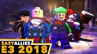Lego DC Super-Villains - E3 2018 Gameplay with Brandon Jones