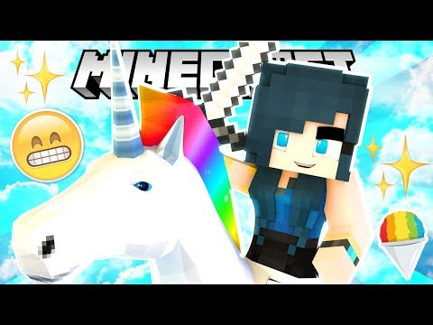 Thumbnail: THE MOST EVIL MAGICAL UNICORN! (Minecraft Build Battle)