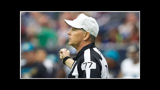 Veteran NFL official Terry McAulay is the third official to retire