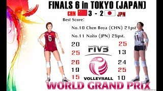 [Finals 6] China vs Japan - Volleyball Women
