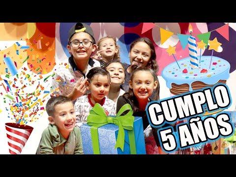 Cumplo 5 Años | Mi Fiesta de Cumpleaños | Karim Juega
