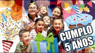 Cumplo 5 Años   Mi Fiesta de Cumpleaños   Karim Juega