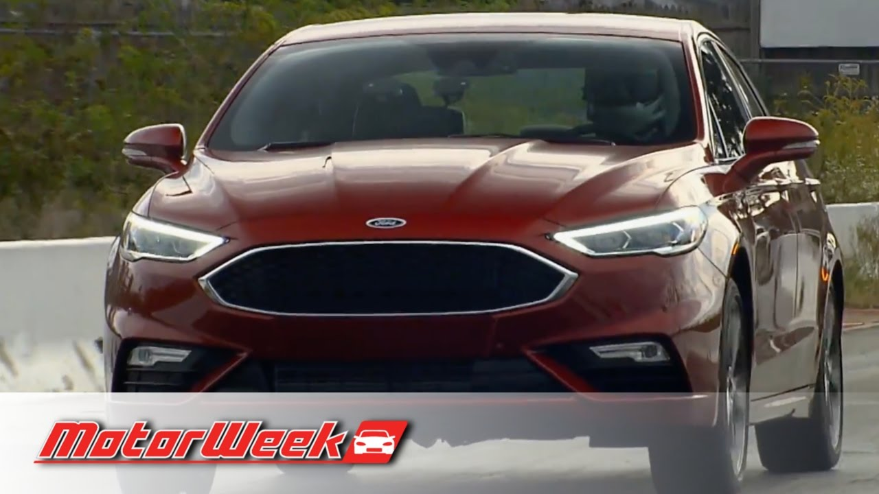 Road Test 2017 Ford Fusion Sport A Twin Turbo V6