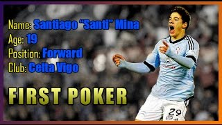Santi Mina - First poker