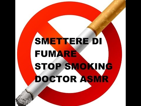 ASMR ITA: Role Play/Smettere Di Fumare/Stop Smoking Doctor, Whispering
