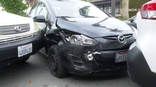 San Diego: Car Thief Hits 4 Cars 06022019