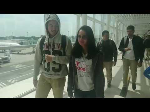 Lucunya Tingkah Rizky Nazar Dan Michelle Ziudith Saat Roadshow Film ILY