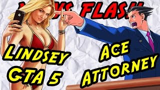 Lindsay Lohan Steps Gta Lawsuit And Ace Attorney Trilogy 3ds Announced