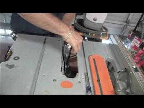 How to use a portable table saw replacing a blade on a table saw how to use a portable table saw replacing a blade on a table saw greentooth Images