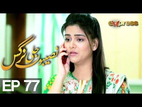 Naseebon Jali Nargis - Episode 77 - Express Entertainment | Kiran Tabeer, Sabeha Hashmi, Mubashara