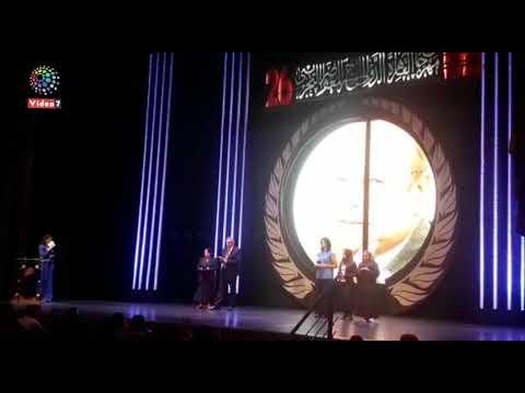 تكريم سيد رجب وسميرة عبد العزيز بمهرجان المسرح التجريبي  - 00:54-2019 / 9 / 20