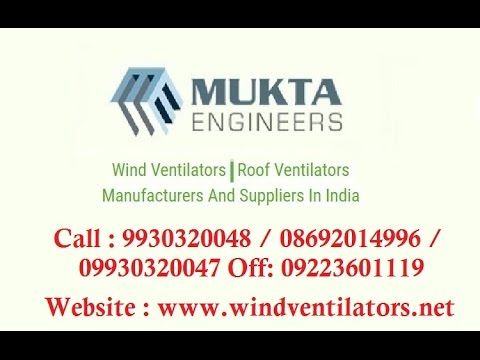 Wind Ventilators, Air, Turbo, Roof Turbine Ventilators, Mumbai, India