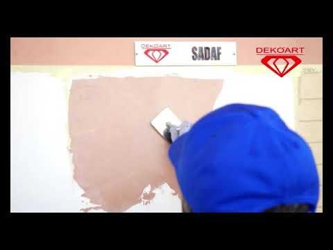 Нанесение SADAF от Компании Deko'Art Tajikistan