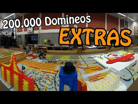200,000 Dominoes - CDT 2012 - The long version / Extras! (HD)